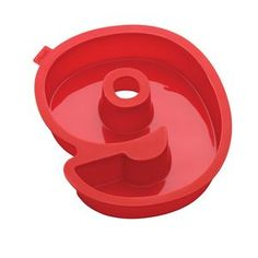 Number 9 Cake Mold, Red, 7 cups