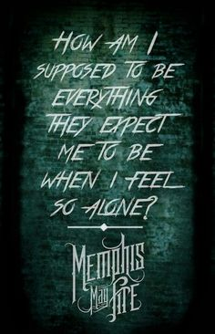 Memphis May Fire<3  Can't wait to see them at Warped this year:D
