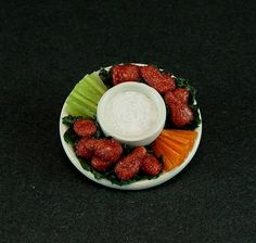 Chicken Wings Platter by EverydayGourmet on Etsy, $34.75
