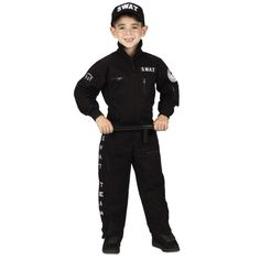 aeromax swat costume with cap seasonal halloween boys halloween costumes - Swat Costumes For Halloween