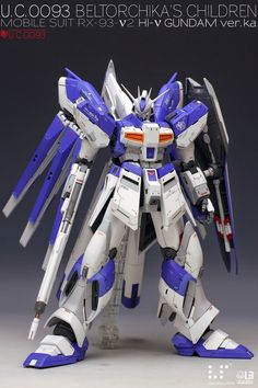 "Custom Build: MG 1/100 hi-nu Gundam Ver. Ka ""Detailed"" - Gundam Kits Collection News and Reviews"
