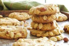 Cookies de aveia com pasta de amendoim                                                                                                                                                                                 Mais