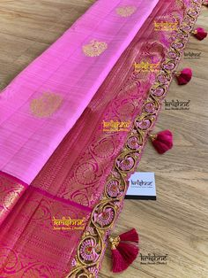 Saree Tassels Designs, Saree Kuchu Designs, Pattu Saree Blouse Designs, Fancy Blouse Designs, Embroidery On Clothes, Embroidery Dress, Wedding Silk Saree, Crochet Designs, Just For You