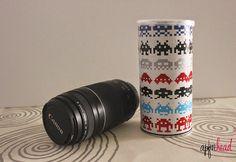 DIY: Funda para el objetivo de la cámara.