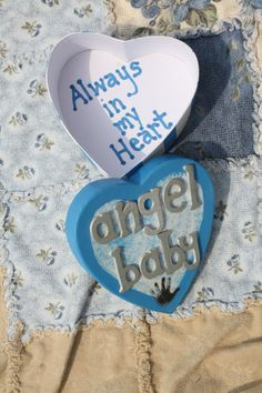 Pregnancy and Infant Loss Angel Baby Memory Box by AlwaysWithMe