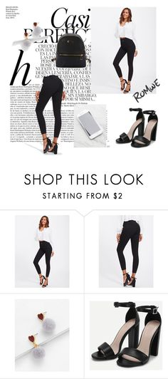 """ROMWE #2"" by eldina12 ❤ liked on Polyvore featuring Whiteley"