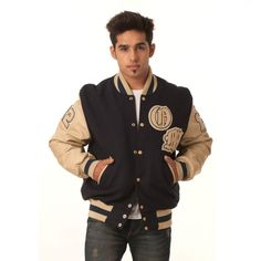 Our custom Letter Jackets come in many different styles to choose from. Build your custom jacket now