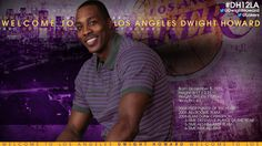Welcome to the Lakers Dwight Howard