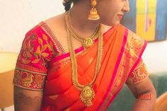 Indian Jewelry, Blouse Designs, Sari, Jewellery, Beautiful, Fashion, Moda, Saree, Jewelery
