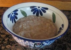 Bowl of Perfect Cooked Oatmeal