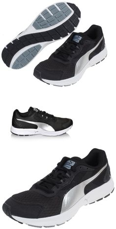 sporting goods: New Puma Descendant V3 Men S Running Shoe Black-Puma Silver Size 10 -> BUY IT NOW ONLY: $32.3 on eBay!