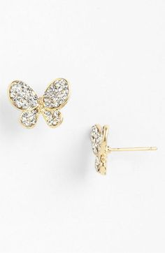 Butterfly Stud Earrings CLICK THIS PIN if you want to learn how you can EARN MONEY while surfing on Pinterest