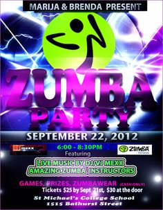 Massive Zumba Party on Sept. 22!