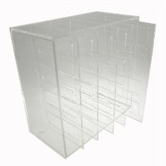 Earring Organizer, Clear Acrylic, Holds up to 210 Pairs, 10-by-10-by-5-in $45.99