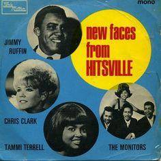 Rare Tamla Motown Album Cover