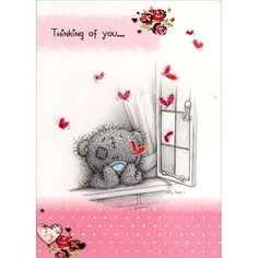 Thinking of You Me to You Bear Card