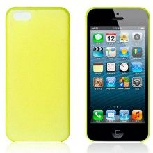 Carcasa iPhone 5C - Ultra fina 0.35mm Amarilla  AR$ 30,94
