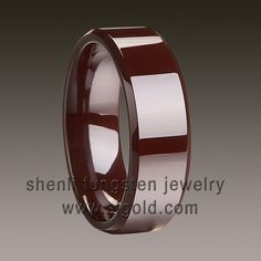 Brown Ceramic Ring wholesale with high quality and competitive price