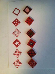 Más tamaños | Small Squares Carved Stamps | Flickr: ¡Intercambio de fotos!