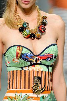 Stella Jean at Milan Fashion Week Spring 2014 - StyleBistro