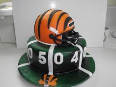 Grooms Cake: Cincinnati Bengals special-ideas-for-my-hubby-to-be