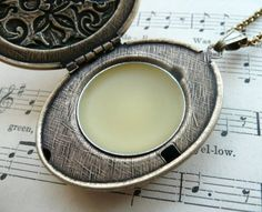 Make your own all-natural solid perfume. So EASY!