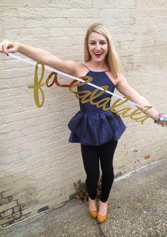 www.highheelsandhappyhartz.com #instamagic #instagram #blogger #lulus #lovelulus #express #lillypulitzer #fallfashion #holidayglam #ohjoy #peplum #navy #womensfashion