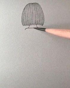 Easy Doodles Drawings, Easy Cartoon Drawings, Girl Drawing Sketches, Cute Easy Drawings, Art Drawings Beautiful, Art Drawings For Kids, Art Drawings Sketches Simple, Pencil Art Drawings, 3d Art Drawing