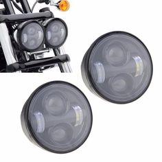 Fat Bob LED Headlights (Pair)