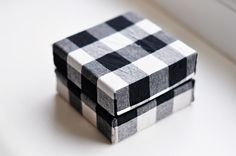 DIY: fabric covered box