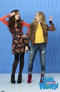 Riley Matthews(Rowan Blanchard) and Maya Hart(Sabrina Carpenter) Cute Outfits For School, Kids Outfits Girls, Tween Girls, Girls In Love, Kids Girls, Sabrina Carpenter, Cory E Topanga, Maya And Riley, Girl Meets World Cast