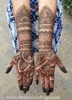 As a finalist in our annual mehndi contest, this super talented artist brings us amazing designs! Mehndi Designs For Beginners, Mehndi Designs For Hands, Henna Designs, Bridal Mehndi Designs, Bridal Henna, Hand Mehndi, Arabic Henna, Mehndi Images, Wedding Vendors