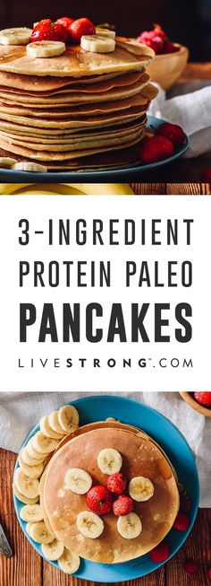 Would you believe me if I told you there is a magical recipe for gluten-free paleo pancakes that require only 3 ingredients? The ease of making them will blow your pancake-loving mind, and they taste amazing too!