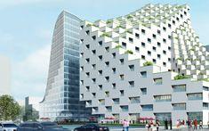 JDS architects: hangzhou waves