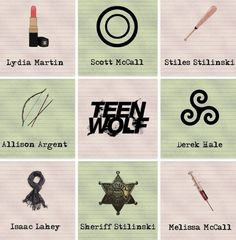 Martin, McCall, Stilinski, Argent, Hale, Lahey, Sheriff & Melissa