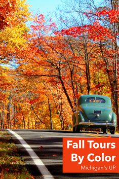 With St. Ignace, MI as your home base, travel along the waters of the Great Lakes & across rivers on roads lined with gold, scarlet, and burgundy leaves. Find your adventure! Michigan Travel, Lake Michigan, Wisconsin, Train Tour, Autumn Scenery, Upper Peninsula, Great Lakes, Vacation Spots, Rivers