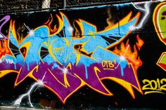 Graffiti Wall of Fame 106th Park Ave