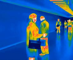 Thermographic camera reveals private secrets