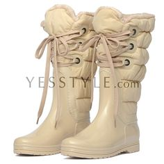 Lace-Up Snow Boots - yeswalker | YESSTYLE
