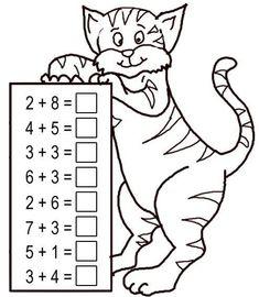 Ideas for printable math games kindergarten grades Kindergarten Math Worksheets, Math Activities, Preschool Activities, Numbers Kindergarten, Printable Math Games, Printable Worksheets, Free Printable, Mental Maths Worksheets, Maternelle Grande Section