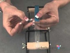 How to Work with a Bead Loom, How to Work with a Bead Loom. In this video from . , youll receive basic instruction on how to use a beading loom to create intricate beaded creatio. Bead Loom Patterns, Jewelry Patterns, Beading Patterns, Jewelry Ideas, Embroidery Patterns, Mosaic Patterns, Painting Patterns, Bracelet Patterns, Bracelet Designs