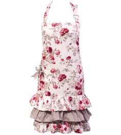Roses Cassis Apron - Laura Ashley
