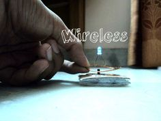 Wireless Electricity Transmission (Simple things required to be collected from scrap)