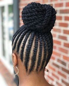 85 Box Braids Hairstyles for Black Women - Hairstyles Trends Box Braids Hairstyles, Flat Twist Hairstyles, Flat Twist Updo, Cute Braided Hairstyles, My Hairstyle, Black Women Hairstyles, Makeup Hairstyle, American Hairstyles, Flat Twist Styles