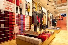 Uniqlo, New York | Visual Merchandising and Store Design