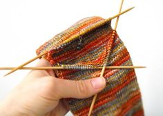 """Knitting Up A Storm: The Complete """"Afterthought Heel"""" Tutorial Sweater Knitting Patterns, Knitting Stitches, Knitting Socks, Knit Patterns, Hand Knitting, Knitting Ideas, Crochet Socks, Diy Crochet, Knitted Hats"""