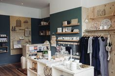 OBJECT lesson: crisply-curated design store OBJECT Chorlton schools Manchester's cool kids on little-known brands. Bathroom Tile Designs, Modern Bathroom Design, Visual Merchandising, Small Store Design, Bathroom Rugs And Mats, Shops, Shop Fittings, Retail Interior, Scandi Style