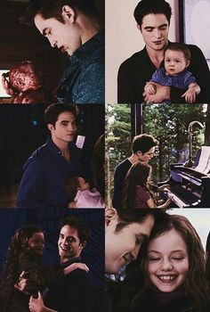 Edward y Reneesme # Padre e hija
