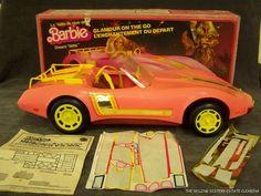 Had this exact one! SH26 VINTAGE BARBIE DREAM VETTE MATTEL 1980