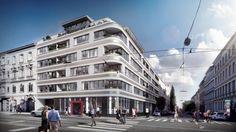 Anlegerwohnungen - Im urbanen Teil vom 19. Wiener Bezirk. - Street View, New Construction